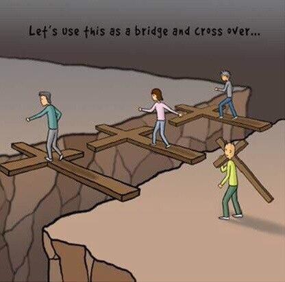 И кресты над пропастью легли