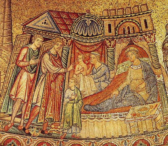 Иосиф с Асенефой и детьми