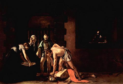«Казнь Иоанна Крестителя», Микеланджело Меризи де Караваджо.