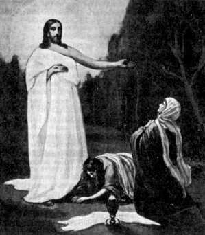 Явление воскресшего Христа мироносицам