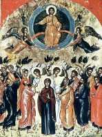 Вознесение Господне. <BR>Икона XVIв. Греция