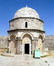 Место Вознесения на Елеонской горе